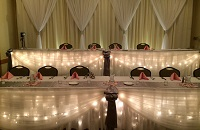 Mankato hotel wedding reception arrangement