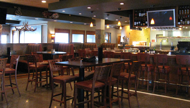 Bar Inside Grizzly's