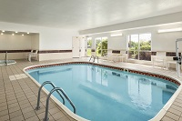 Heated indoor pool and hot tub in Owatonna