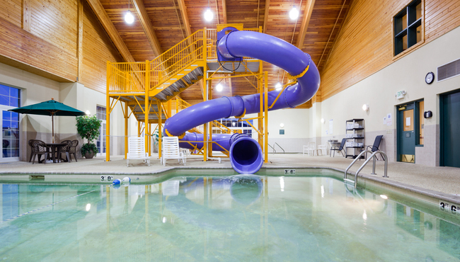 Indoor Pool with Waterslide