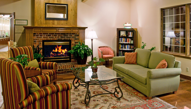 Unwind by the Fireplace