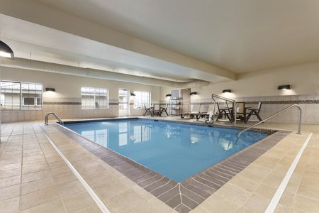 Indoor Pool At St Peters Hotel