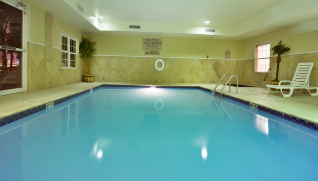Heated, Indoor Pool and Whirlpool Tub