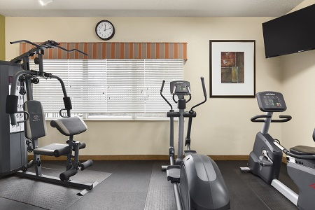 Asheville hotel's fitness center