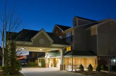Country Inn & Suites, Boone hotel exterior at night