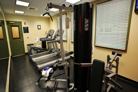 Fitness center with cardio machines and multi-gym