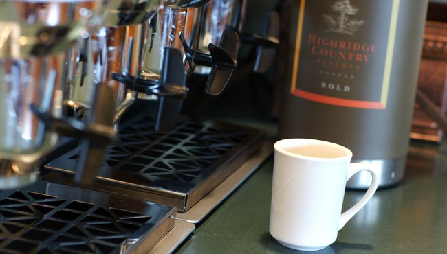 Hot Coffee Available 24 Hours