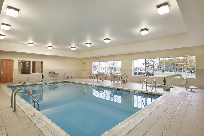 Relax in the Indoor Pool and Spa