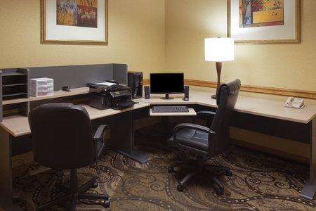 Business center at the Country Inn & Suites, Cuyahoga Falls, OH