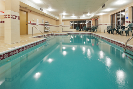 Indoor pool at the Country Inn & Suites, Cuyahoga Falls, OH