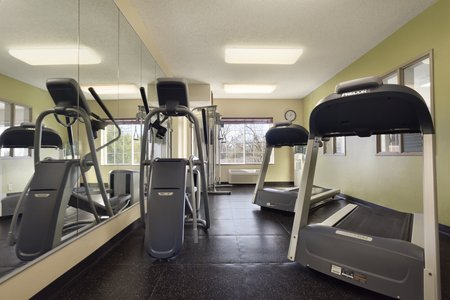 Fitness center in Norman with treadmills
