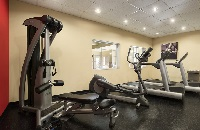 Fitness center with treadmills, elliptical and multi-gym