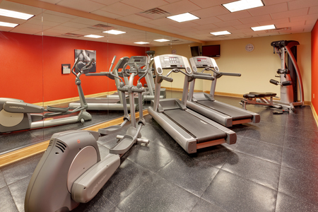 Harrisburg hotel's fitness center includes treadmills
