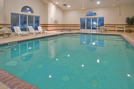 Indoor pool at the Country Inn & Suites