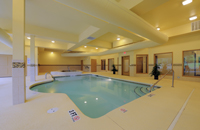 Columbia hotel's indoor pool and hot tub