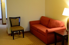 Handicap-accessible hotel suite in Rock Hill, SC near Carowinds