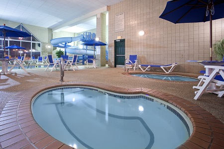 Pool area with a hot tub in Rapid City, SD