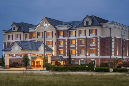 Exterior of the Country Inn & Suites, College Station, TX