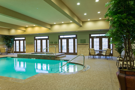 Heated Indoor Pool And Hot Tub In San Marcos