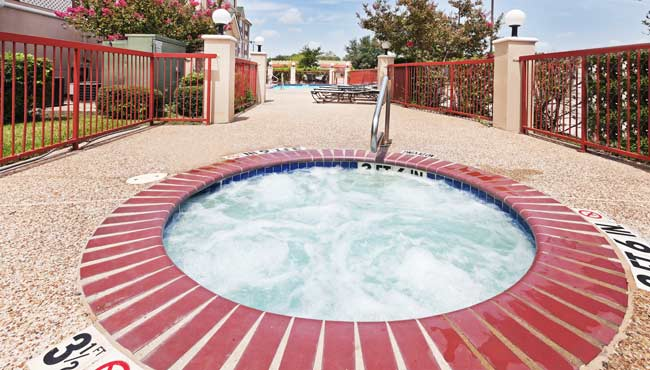 Outdoor Whirlpool Tub