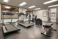 Fitness center at Asheville Westgate hotel