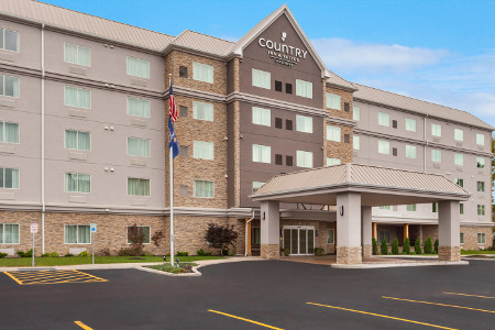 Hotel Exterior At The Country Inn Suites Buffalo South
