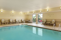 Corpus Christi hotel's indoor swimming pool