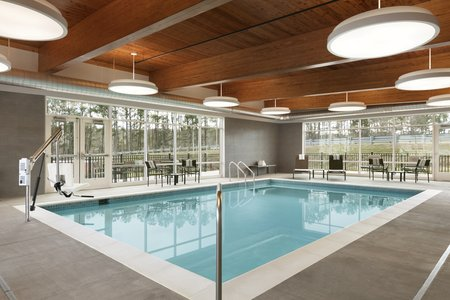 Sparkling Indoor Swimming Pool At Our Charlottesville Hotel
