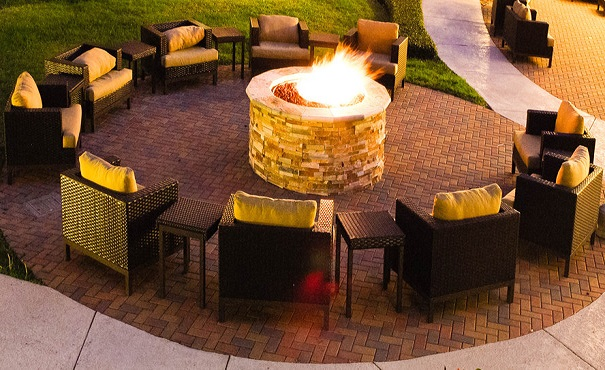 Gather around the Fire Pit