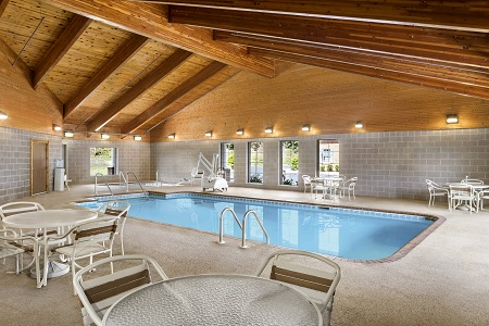 Refreshing Indoor Pool at Johnson City Hotel