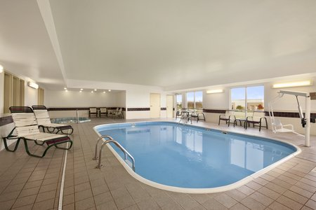 Hotel S Indoor Heated Pool In Lewisville Tx