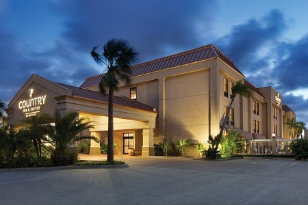 Exterior of the Country Inn & Suites, Portland, TX