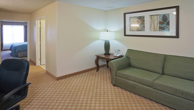 In-room Living Area