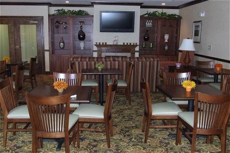 Free, Hot Breakfast at the Country Inn & Suites, Emporia