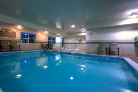 Indoor pool and seating in Ashland