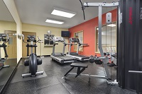 Fitness center with treadmills, cardio equipment and weight machine