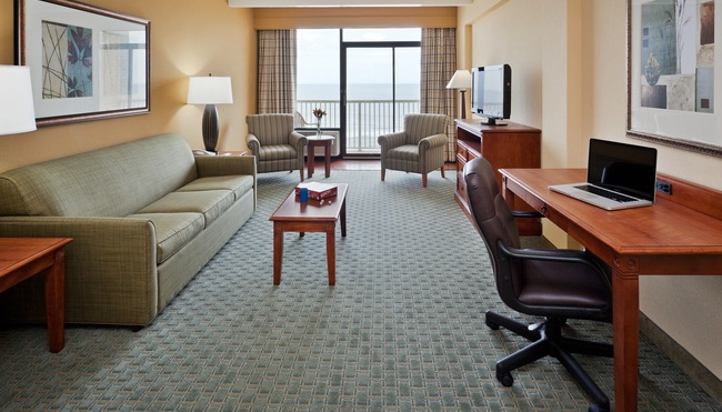 Extended-stay Suite Living Area