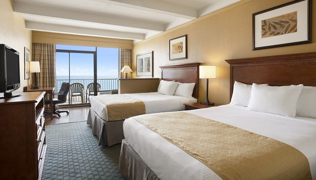 Suite With Two Queen Beds A Balcony And Ocean View