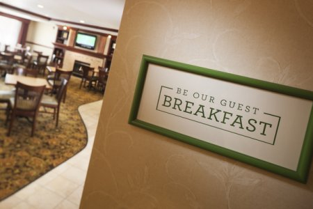 Complimentary, Hot Be Our Guest Breakfast