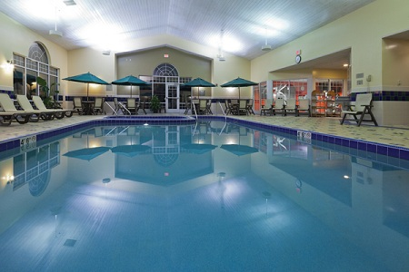 Brookfield hotel with indoor pool and hot tub