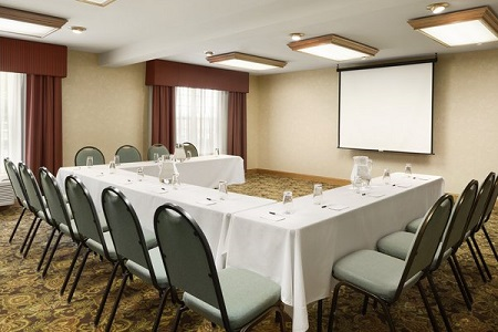 Conference seating in Kenosha meeting space