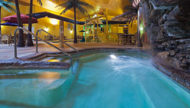 Exciting Indoor Pool