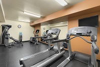 Middleton hotel's fitness center