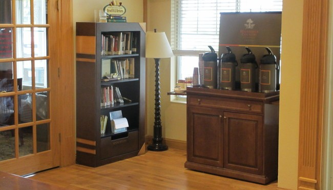 Lending Library and Hot Beverage Station