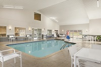 Platteville hotel's indoor pool