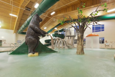 Bear Foot Bay Indoor Water Park in Prairie du Chien, WI