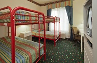 Family Suite in Prairie du Chien with Bunk Beds for Children