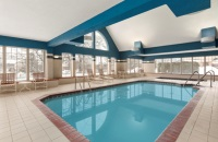 Wausau hotel's indoor pool