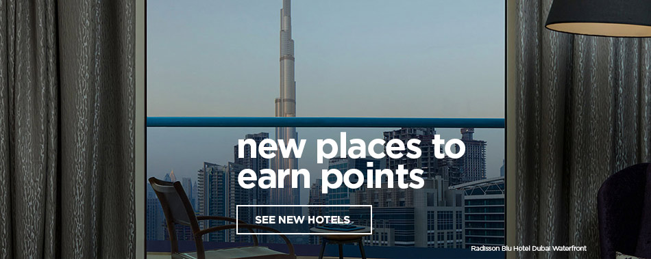 New Places to Earn Points-  New Hotels