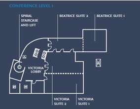 Blueprints for London hotel meeting rooms